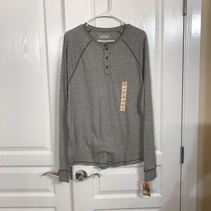 NWT Urban pipeline long sleeve button front shirt